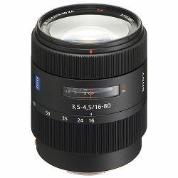 Sony A DT 16-80mm f/3.5-4.5 ZA Carl Zeiss Vario-Sonnar T* standardni objektiv za A-mount 16-80 F3.5-4.5 SAL-1680Z SAL1680Z (SAL1680Z.AE)