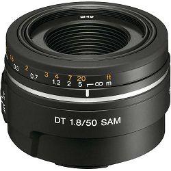 Sony A DT 50mm f/1.8 SAM standardni objektiv za A-mount 50 F1.8 1.8 F/1,8 SAL-50F18 SAL50F18 (SAL50F18.AE)