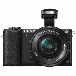 Sony Alpha A5100 + 16-50 f/3.5-5.6 KIT Mirrorless Digital Camera bezrcalni digitalni fotoaparat i standardni zoom objektiv SEL1650 16-50mm f3.5-5.6 ILCE-5100LB ILCE5100LB (ILCE5100LB.CEC)