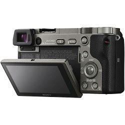 Sony Alpha a6000 + 16-50 f/3.5-5.6 KIT Graphite Mirrorless Digital Camera sivi bezrcalni digitalni fotoaparat i standardni zoom objektiv SEL1650 16-50mm f3.5-5.6 ILCE-6000LH ILCE6000LH (ILCE6000LH.CEC