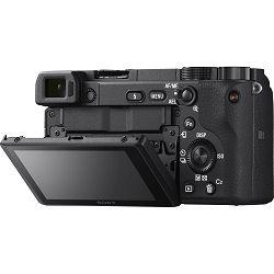 Sony Alpha a6400 + 18-135 f/3.5-5.6 OSS KIT Black Mirrorless Digital Camera crni bezrcalni digitalni fotoaparat i zoom objektiv SEL18135 18-135mm F3.5-5.6 ILCE-6400MB ILCE6400MB ILCE6400MB.CEC