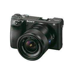 Sony Alpha a6500 + 16-70 f/4 ZA OSS KIT Mirrorless Digital Camera bezrcalni digitalni fotoaparat i standardni zoom objektiv SEL1670Z 16-70mm F4.0 4.0 f/4,0 ILCE-6500ZBDI ILCE6500ZBDI (ILCE6500ZBDI.EU)