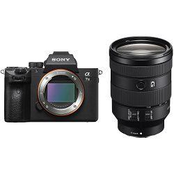 Sony Alpha a7 III + 24-105mm f/4 G OSS KIT Mirrorless Digital Camera bezrcalni digitalni fotoaparat i zoom objektiv SEL24105G FE 24-105mm f4 a7III ILCE-7M3GBDI ILCE7M3GBDI (ILCE7M3GBDI.EU)