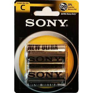Sony cink baterija vel. C/R14, 2kom, bl.