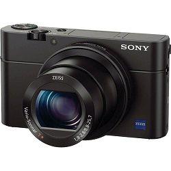 Sony Cyber-shot DSC-RX100 M3 + AR-G2 grip + LCS-RXG Digitalni fotoaparat s integriranim objektivom Carl Zeiss Vario-Sonnar T 8.8-25.7mm f/1.8-2.8 RX100 III RX-100 DSCRX100M3GDI DSCRX100M3GDI.EU
