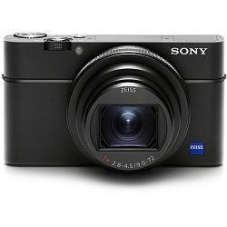 Sony Cyber-shot DSC-RX100 M6 Black crni Digitalni fotoaparat s integriranim objektivom Carl Zeiss Vario-Sonnar T* 9-72mm f/2.8-4.5 Digital Camera RX100 VI RX-100 DSCRX100M6 20.2Mp (DSCRX100M6.CE3)