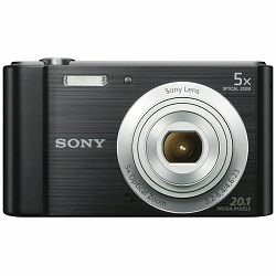 Sony Cyber-shot DSC-W800 Black crni Digitalni fotoaparat Digital Camera DSC-W800B DSCW800B 20.1Mp 5x zoom (DSCW800B.CE3)