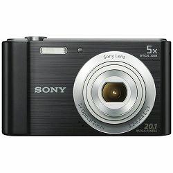 Sony Cyber-shot DSC-W800 Black crni Digitalni fotoaparat Digital Camera DSC-W800B DSCW800B 20.1Mp 5x zoom (DSCW800B.CE3)