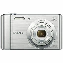 Sony Cyber-shot DSC-W800 Silver srebreni Digitalni fotoaparat Digital Camera DSC-W800S DSCW800S 20.1Mp 5x zoom (DSCW800S.CE3)