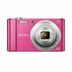 Sony Cyber-shot DSC-W810 Pink rozi Digitalni fotoaparat Digital Camera DSC-W810P DSCW810P 20.1Mp 5x zoom (DSCW810P.CE3)
