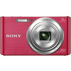 Sony Cyber-shot DSC-W830 Pink rozi Digitalni fotoaparat Digital Camera DSC-W830P DSCW830P 20.1Mp 8x zoom (DSCW830P.CE3)