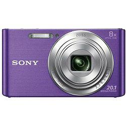 Sony Cyber-shot DSC-W830 Purple ljubičasti Digitalni fotoaparat Digital Camera DSC-W830V DSCW830V 20.1Mp 8x zoom (DSCW830V.CE3)