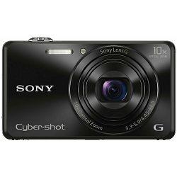 Sony Cyber-shot DSC-WX220 Black crni digitalni kompaktni fotoaparat DSCWX220B DSC-WX220B (DSCWX220B.CE3)