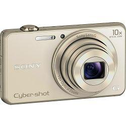 Sony Cyber-shot DSC-WX220 Gold zlatni digitalni kompaktni fotoaparat DSCWX220N DSC-WX220N (DSCWX220N.CE3)