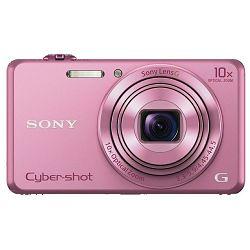Sony Cyber-shot DSC-WX220 Pink rozi digitalni kompaktni fotoaparat DSCWX220P DSC-WX220P (DSCWX220P.CE3)