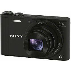 Sony Cyber-shot DSC-WX350 Black crni digitalni kompaktni fotoaparat DSCWX350B DSC-WX350B (DSCWX350B.CE3)