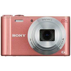 Sony Cyber-shot DSC-WX350 Pink rozi digitalni kompaktni fotoaparat DSCWX350P DSC-WX350P (DSCWX350P.CE3)