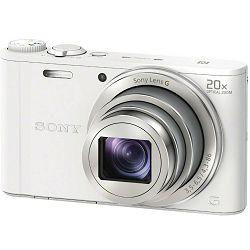 Sony Cyber-shot DSC-WX350 White bijeli digitalni kompaktni fotoaparat DSCWX350W DSC-WX350W (DSCWX350W.CE3)