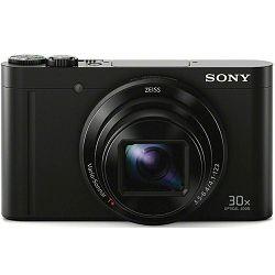 Sony Cyber-shot DSC-WX500 Black crni digitalni kompaktni fotoaparat DSCWX500B DSC-WX500B (DSCWX500B.CE3)