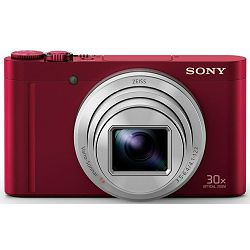 Sony Cyber-shot DSC-WX500 Red crveni digitalni kompaktni fotoaparat DSCWX500R DSC-WX500R (DSCWX500R.CE3)