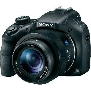 Sony Cyber-shot DSC-HX400V Black crni digitalni kompaktni fotoaparat DSC-HX400VB DSCHX400VB DSC-HX400V/B DSC-HX400 Digital Camera (DSCHX400VB.CE3)