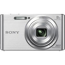 Sony Cyber-shot DSC-W830 Silver srebreni Digitalni fotoaparat Digital Camera DSC-W830S DSCW830S 20.1Mp 8x zoom (DSCW830S.CE3)