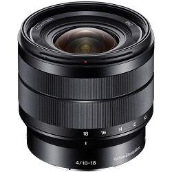 Sony E 10-18mm f/4 OSS širokokutni objektiv za E-Mount 10-18 F4.0 4.0 f/4,0 SEL-1018 SEL1018 (SEL1018.AE)