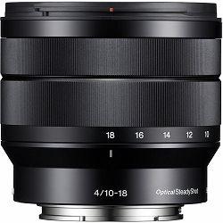 Sony E 10-18mm f/4 OSS širokokutni objektiv za E-Mount 10-18 F4.0 4.0 f/4,0 SEL-1018 SEL1018 (SEL1018.AE) - Cash Back