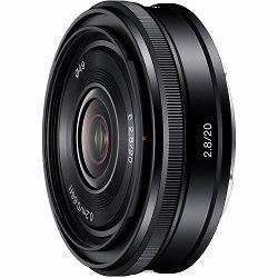 Sony E 20mm f/2.8 širokokutni objektiv za E-Mount 20 F2.8 2.8 f/2,8 SEL-20F28 SEL20F28 (SEL20F28.AE)