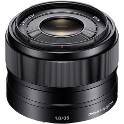 Sony E 35mm f/1.8 OSS širokokutni objektiv za E-Mount 35 F1.8 1.8 f/1,8 SEL-35F18 SEL35F18 (SEL35F18.AE)