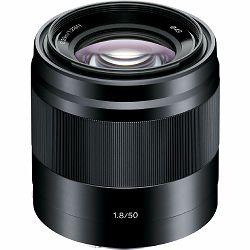 Sony E 50mm f/1.8 OSS Black crni portretni standardni objektiv za E-mount 50 F1.8 1.8 f/1,8 SEL-50F18B SEL50F18B (SEL50F18B.AE)