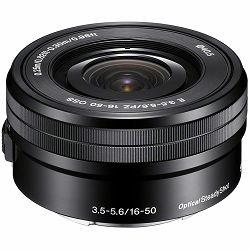 Sony E PZ 16-50mm f/3.5-5.6 OSS standardni objektiv za E-Mount 16-50 F3.5-5.6 F3,5-5,6 SEL-P1650 SELP1650 (SELP1650.AE)