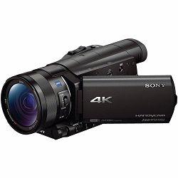 Sony FDR-AX100E 4K Ultra HD 120fps Kompaktna digitalna kamera kamkorder Handycam Camcorder FDRAX100 FDR-AX100EB FDRAX100EB (FDRAX100EB.CEE)