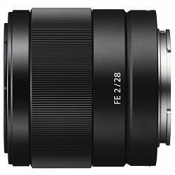Sony FE 28mm f/2 širokokutni objektiv za E-Mount 28 F2.0 2.0 f/2,0 SEL-28F20 SEL28F20 (SEL28F20.SYX) - Cash Back