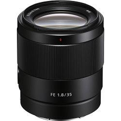 Sony FE 35mm f/1.8 širokokutni objektiv za E-Mount 35 F1.8 F1,8 1.8 SEL-35F18F SEL35F18F (SEL35F18F.SYX)