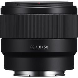 Sony FE 50mm f/1.8 portretni standardni objektiv za E-mount 50 F1.8 1.8 f/1,8 SEL-50F18F SEL50F18F (SEL50F18F.SYX)