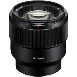 Sony FE 85mm f/1.8 portretni telefoto objektiv za E-mount 85 F1.8 1.8 f/1,8 SEL-85F18 SEL85F18 (SEL85F18.SYX)