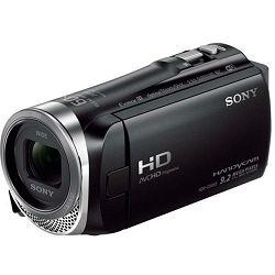 Sony HDR-CX450 Full HD O.SS IAM 30x Zoom Handycam Camcorder Kompaktna digitalna video kamera kamkorder HDR-CX450B HDR-CX450/B HDRCX450 HDRCX450B HDRCX450/B (HDRCX450B.CEN)