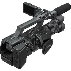 Sony NEX-EA50M kamera + 18-105mm f/4 zoom objektiv E-mount FullHD 1080p 60fps APS-C CMOS sensor XLR
