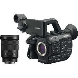 Sony PXW-FS5 Mark II + E PZ 18-105 f/4 G OSS KIT 4K Handheld kamkorder Camcorder PXW-FS5M2K with 18-105mm E-Mount Lens
