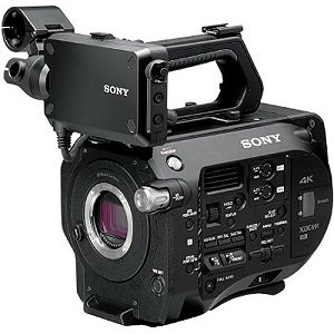 Sony PXW-FS7 (Body Only) 4K XDCAM Super 35mm Exmor CMOS sensor XDCAM camera with Mount lens system, 4K/2