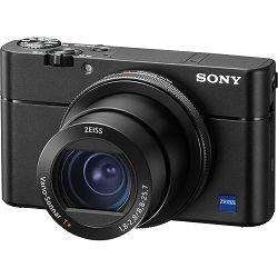 Sony Cyber-shot DSC-RX100 M5 Black crni Digitalni fotoaparat s integriranim objektivom Carl Zeiss Vario-Sonnar T* 10.4-37.1mm f/1.8-4.9 Digital Camera RX100 V RX-100 DSCRX100M5 20.2Mp (DSCRX100M5.CE3)