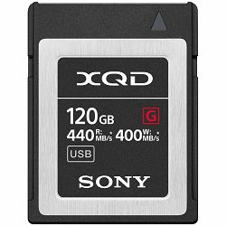 Sony XQD 120GB 440MB/s 400MB/s G Series High Speed Memory Card memorijska kartica (QDG120F)
