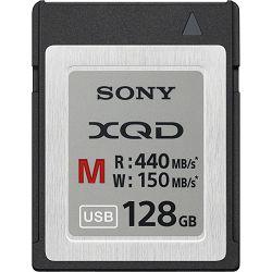 Sony XQD 128GB 440 MB/s 2933x M Series Memory Card QDM128 memorijska kartica