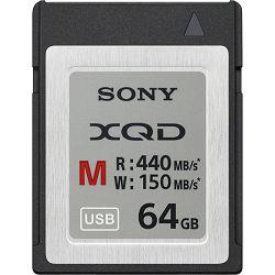 Sony XQD 64GB 440MB/s 2933x M Series Memory Card QDM64 memorijska kartica