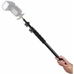 StudioKing Boompole Stick LBPS-158 Telescopic Retractable Extension Arm with Handle 63-158cm teleskopski štap za bljeskalice, mikrofone i rasvjetu