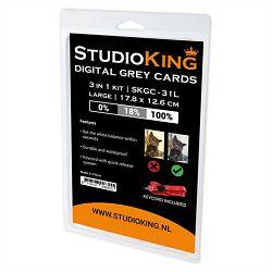 StudioKing Digital Grey Card SKGC-31L siva karta za kalibraciju large (572564)