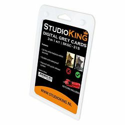 StudioKing Digital Grey Card SKGC-31S siva karta za kalibraciju small (572563)