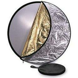 StudioKing dosvjetljivač 5u1 CRC5107 107cm zlatni srebreni crni bijeli transparentni disk reflektirajući reflektor difuzor crna bijela zlatna srebrena 5-in-1 Collapsible Circular