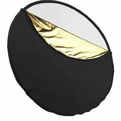 StudioKing dosvjetljivač 5u1 CRC582 82cm reflektor zlatni srebreni crni bijeli transparentni disk reflektirajući reflektor difuzor crna bijela zlatna srebrena 5-in-1 Collapsible Circular